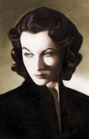 Vivien Leigh IV in colour by molibali