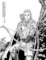 Legolas by mlpeters
