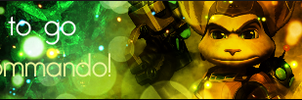 Ratchet and Clank Banner - PASBR by BloodyViruz