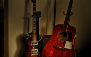 My Guitars, HDR by xxdigipxx