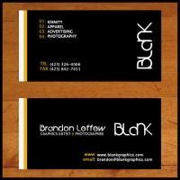 Blank : Business Card by BLPhotography