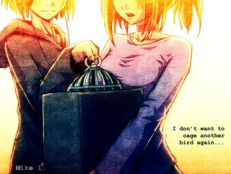 Cage :No More: by Mikeinel