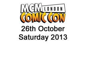 London MCM Oct 2013 Saturday album cover by Paper-Cube
