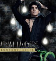 Adam Lambert - Glam Lights I by SprockBoy