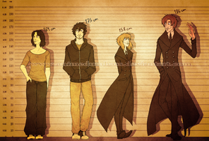 Height Chart - All of Me by AnimeDumbass