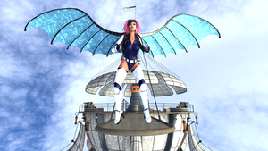 The Sky is the Limit by MadamGoth