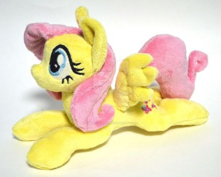 Fluttershy plush. by GingerAle2016