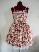 Alice in Wonderland Card Print Dress by sweetmildred