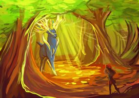 Finding Xerneas by wanlingnic