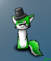 top hat yus yus by CoolCodeCat