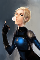 Cassie Cage by PaperImp