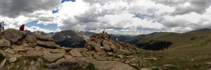 Rocky Mountain Panorama 2 by sequential
