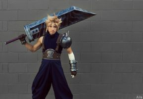 Cloud - FFVII by AilaPhotography