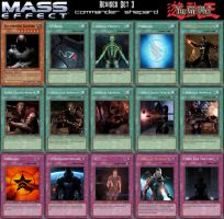 Yu-Gi-Oh Mass Effect Revised Set 3 by Blackcell8