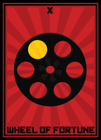 Wheel of Fortune Tarot Card by FragOcon