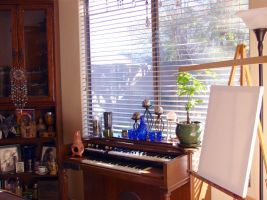 My Painting Space by andromeda