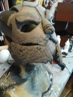 Garrus Vakarian WIP Missile Damage by TaliBelle-Cosplay