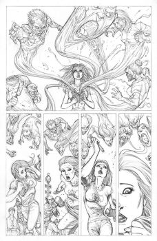 FUNHOUSE of HORRORS Page 15 Issue 4 by RudyVasquez