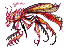 Gateway Killer Wasp by MickMcDee