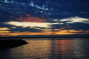Sunset over Ottawa River II by PaulMcKinnon