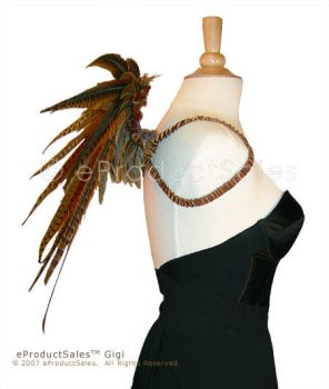 Gigi Angel Wings Side View by eProductSales