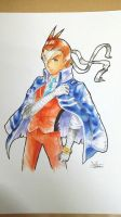 Apollo Justice Waist Up by Marini4