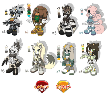::Mobian Adopts Set 7/10:: by Mangostaa