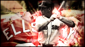Jacoby Ellsbury Red Sox - PS by MRomanos