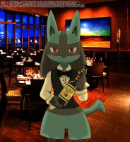 Need A Wine? ( Lucario )