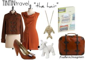 Tintin Travel: The Hair by SouthernImagineer