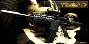 RAP4 T68A7 PAINTBALL GUN by RealActionPaintball