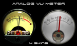Analog VU Meter by HiTBiT-PA