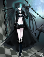 Black Rock Shooter by LunaChan1207