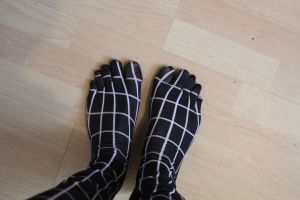 spiderman toes by nacd1234