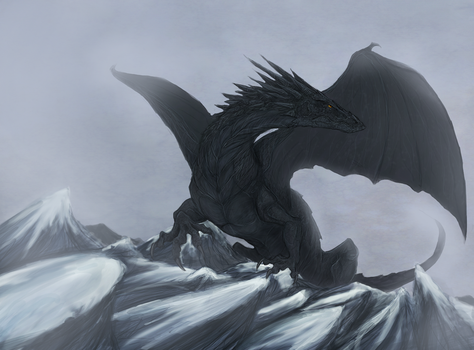 dragon by isawic
