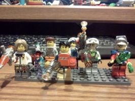 Time Hunters, Characters Welcomed by LegoBlockSmith