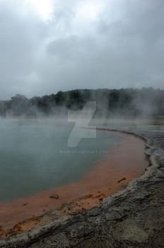 The Hot Spring by minir