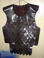 LARP scale armour WIP by Meow-chi