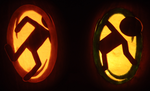 Portals on Pumpkins by johwee