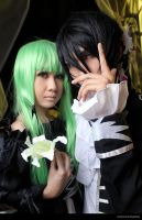 Lelouch and C.C. [Code Geass] by jiocosplay