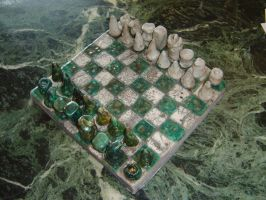 Emerald Chess Set by SuperClown