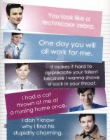 Kurt from Glee Bookmarks by WildeMoon