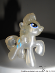 Rarity _ transparent Blind Bag Pony toy by Hasbro by K4nK4n