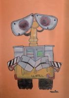 Wall.E drawing by chloesmith8