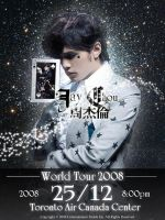 Jay Chou Concert Poster by carmietee