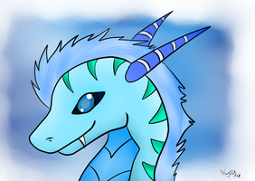 Ice Dragon by CKittyKat98