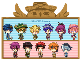 Free!Pirates gif by Evil-usagi