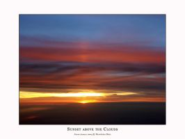 Sunset above the Clouds 1 by dekleene