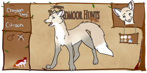 Redmoor Hunts: Chayton Application by ClosetMentalPatient