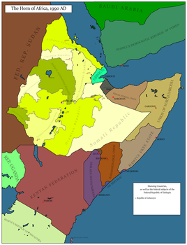 The Horn of Africa by 92nd-Cived